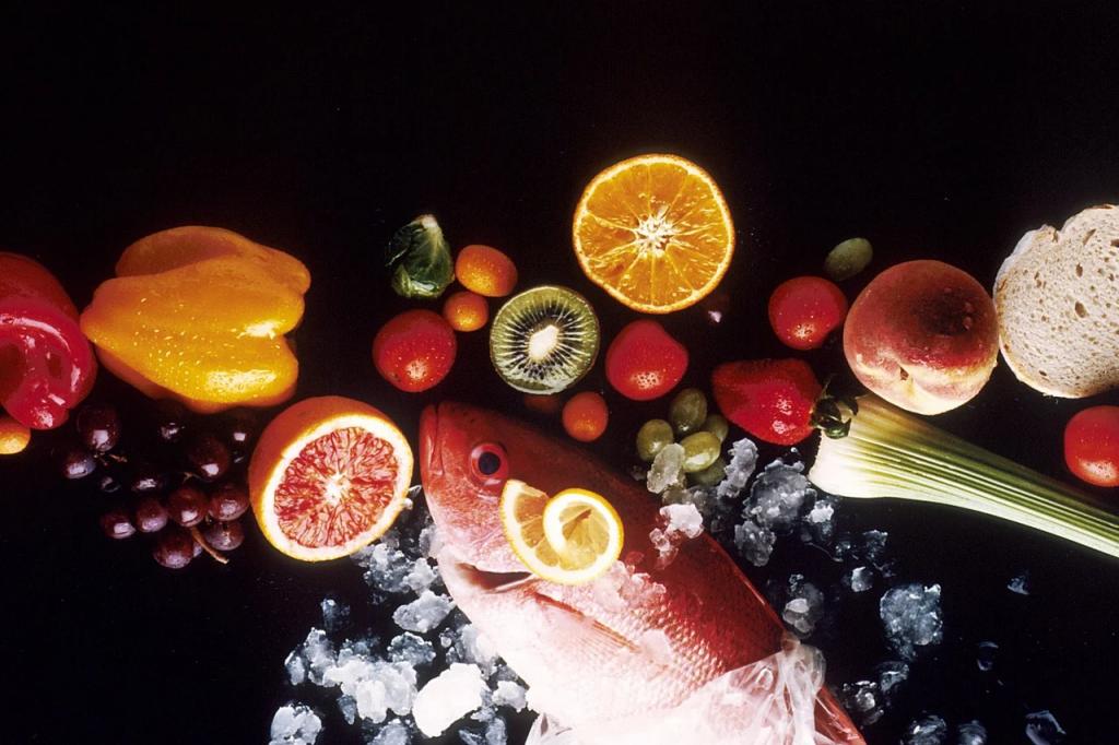 Cibi che contengono fluoro: salmone, pomodori, cereali